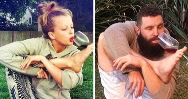 This Guy Perfectly Recreates Girls' Tinder Profile Pics And The Internet Loves It